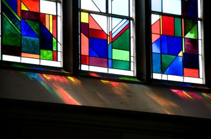 Adding stained glass panels to your existing windows increases your home's value and adds beauty as well as function